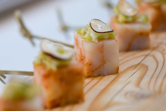 Prawn amuse bouche | Chef D Brown