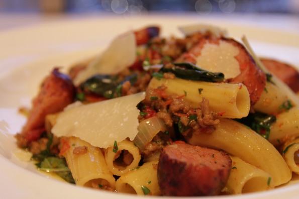 giovane's elicoidali with sausage