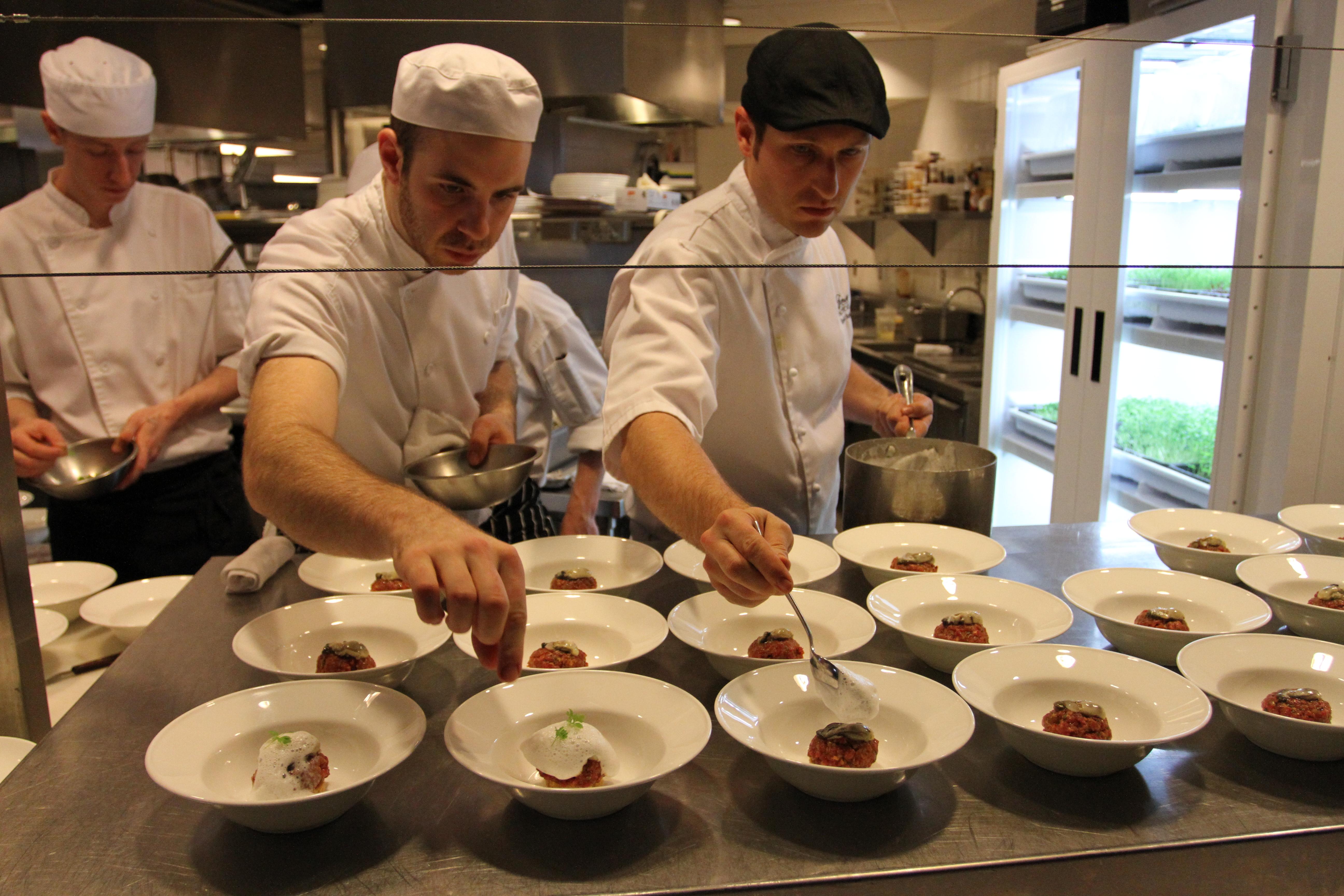 Chef Stewart and Deuce